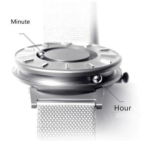 Magnetic Ball Watch Vue Watches Minute Hour