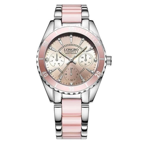Pretty in Pink Ceramic Watch Vue Watches