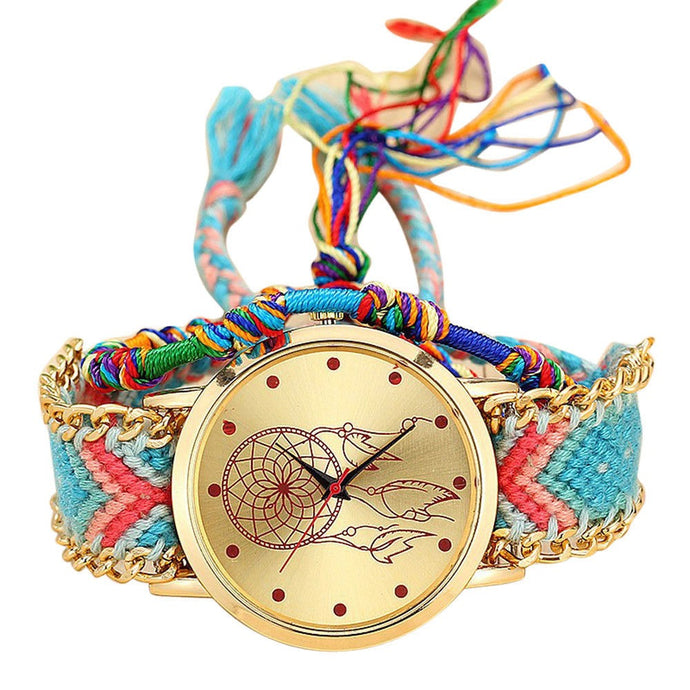 Blue/Pink Dreamcatcher Watch