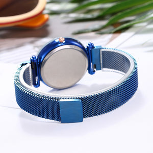 Back of Blue Starry Watch