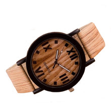 Load image into Gallery viewer, Dark Wooden Watch