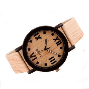 Light Wooden Watch