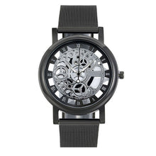 Load image into Gallery viewer, Black/Silver Stainless Steel Watch