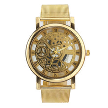 Load image into Gallery viewer, Gold Stainless Steel Watch