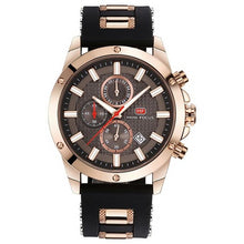 Load image into Gallery viewer, Men's Precision Watch Golden Black