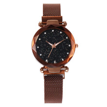 Load image into Gallery viewer, Brown Starry Watch