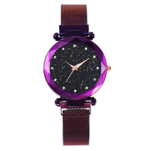 Load image into Gallery viewer, Purple Starry Watch