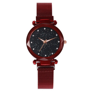 Fire Red Starry Watch