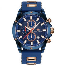 Load image into Gallery viewer, Men's Precision Watch Marina Blue / Gold