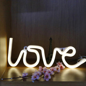 Neon Love Light