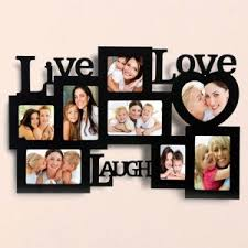 Personalised  Live Love Laugh Frames