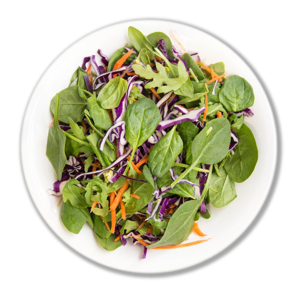Mixed Salad (baby spinach,arugula ,shredded carrot & purple cabbage) 250g