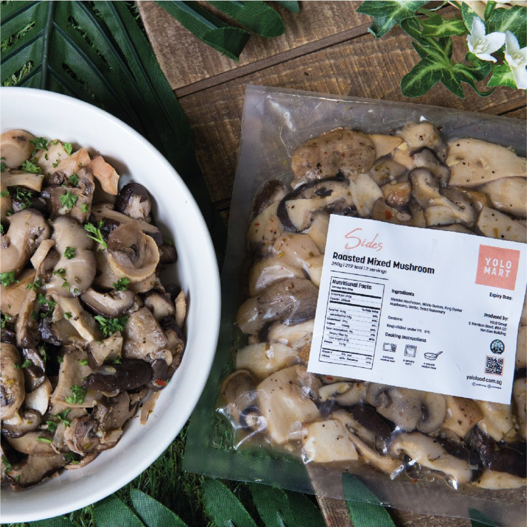 Roasted Mixed Mushrooms (500g)