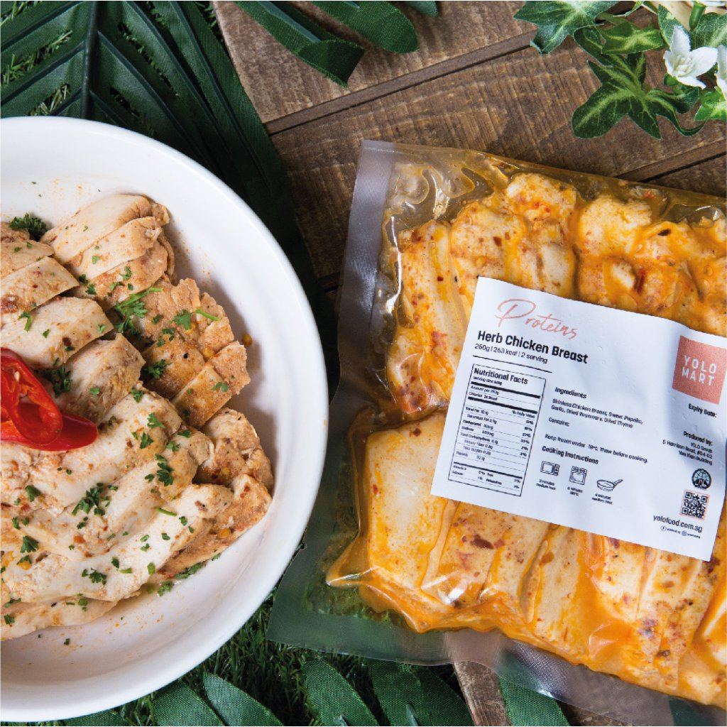 Herb Chicken Breast (500g)