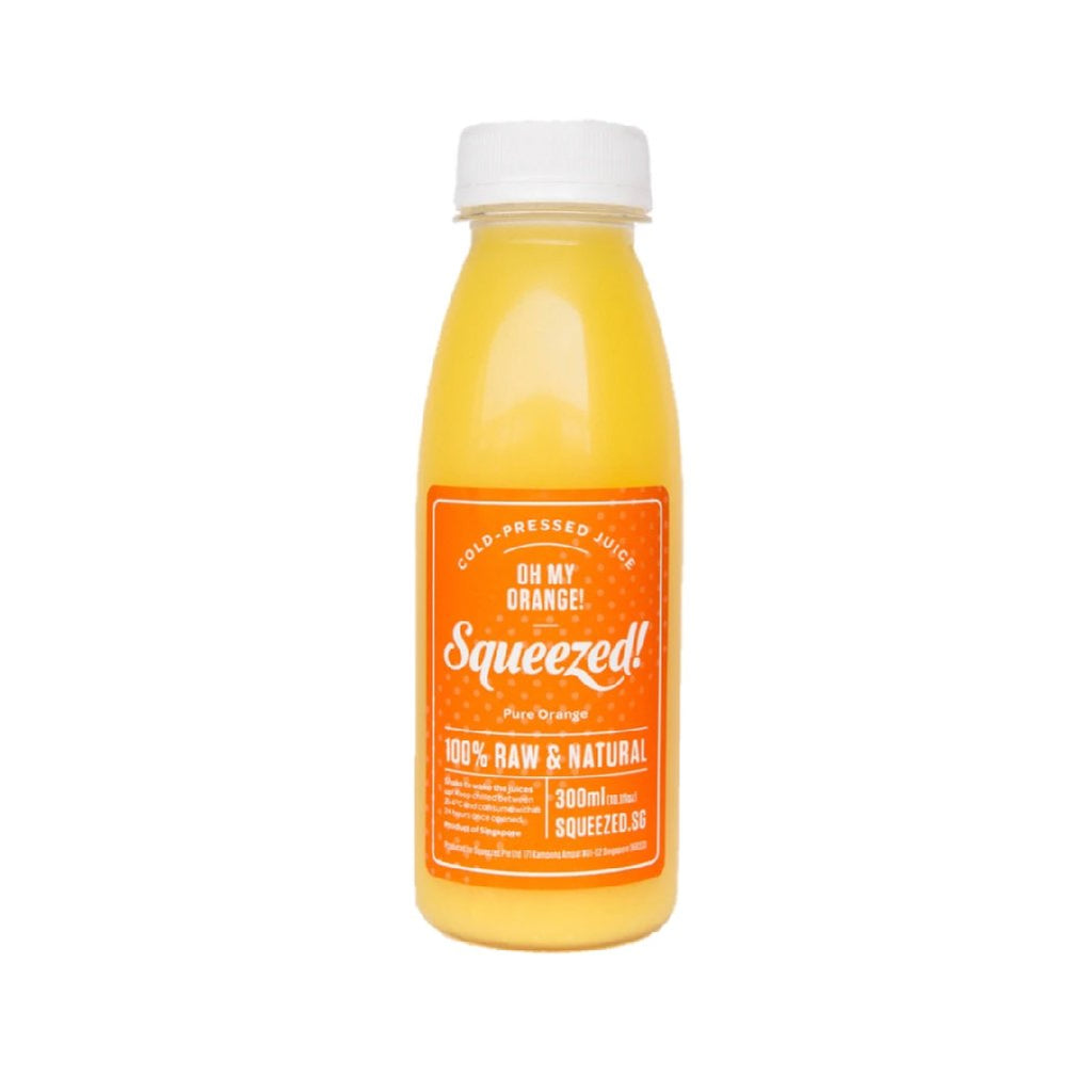 Cold Pressed Orange Juice  (250ml)