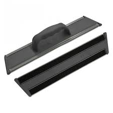 TTS CLEAN GLASS BLACK - EXTRA LONG (CON PANNO MICROBE)