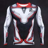 Men 3D Avenger's Endgame T-Shirt Quantum Realm Tee Sports Suit Fitness Shirt