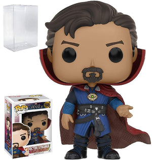 Funko Pop! Marvel: Dr. Strange - Doctor Strange #169 Vinyl Figure Bobblehead (Bundled with Pop Box Protector Case)