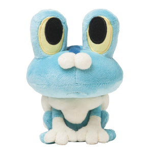 Pokemon Center Original 5-1/2 Inch Froakie Plush Doll (Keromatsu)