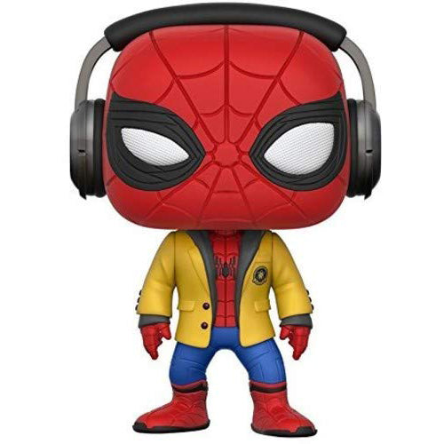 Funko Pop! Movies: Spider-Man HC - Spider-Man W/Headphones Collectible Vinyl Figure