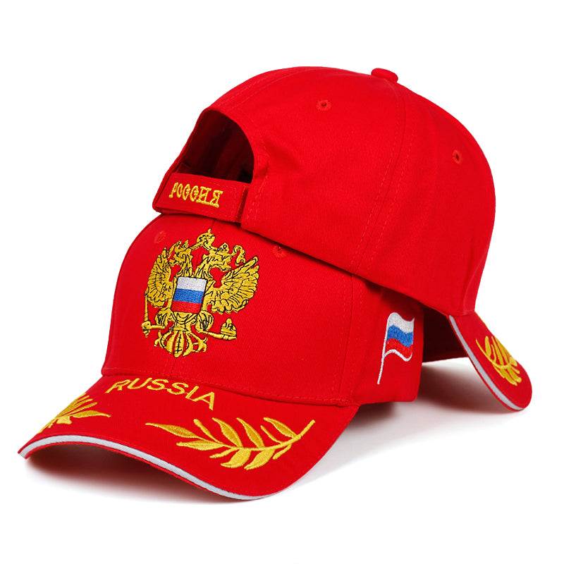 Embroidered baseball cap fashion outdoor visor hat men women casual hats