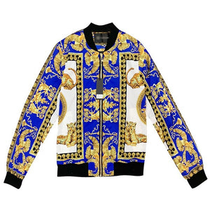 Luxury Brand Eden park tommi  men jacket digital print with zipper