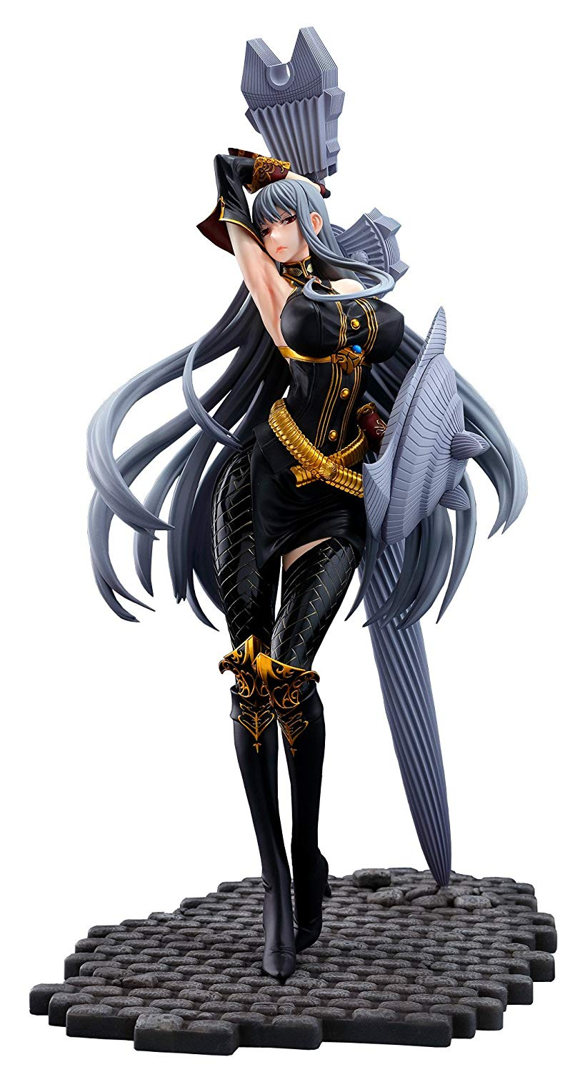 Vertex Valkyria Chronicles: Selvaria Bles (Battle Mode Version) 1: 7 Scale PVC Figure