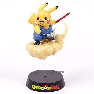 Son Goku Pikachu PVC Figure Collectible Model