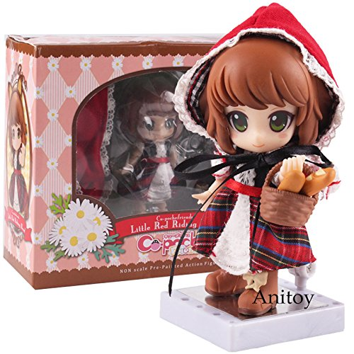 Little Red Riding Hood Real Clothes Ver. PVC Action Figure Cu-poche friends Collectible Model Toy Model Figures Pvc Toys