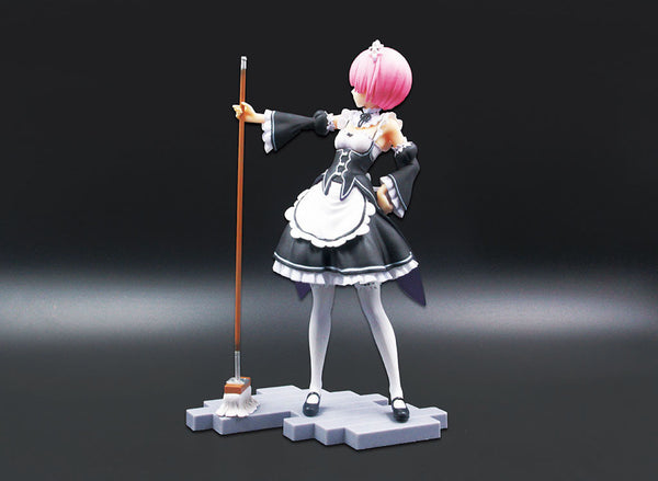 Re: Zero: Starting Life in Another World: Ram 1: 8 Scale PVC Figure