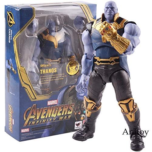 S.H.Figuarts Avengers Infinity War Thanos Figure PVC Action Figures Marvel