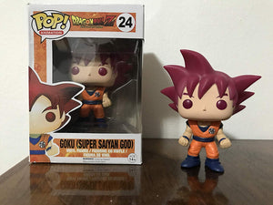 POP! Anime: Dragonball Z Super Saiyan God Goku Vinyl Figure