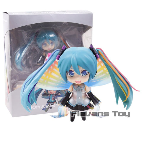 831 Hatsune Miku 10th Anniversary PVC Action Figure Collectible Model Toy