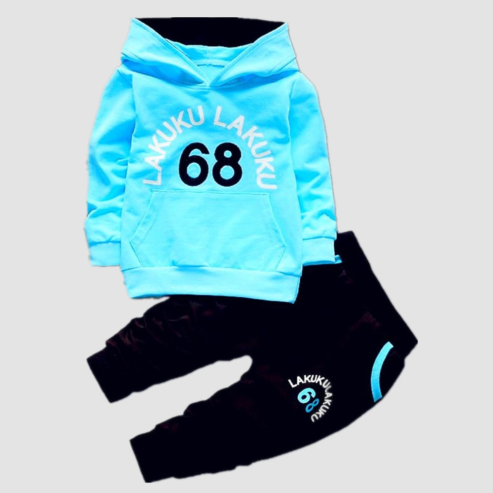 Birthday Suit Boys Tracksuits Kids Brand Sport Suits Hoodies Top +pants 2pcs Set