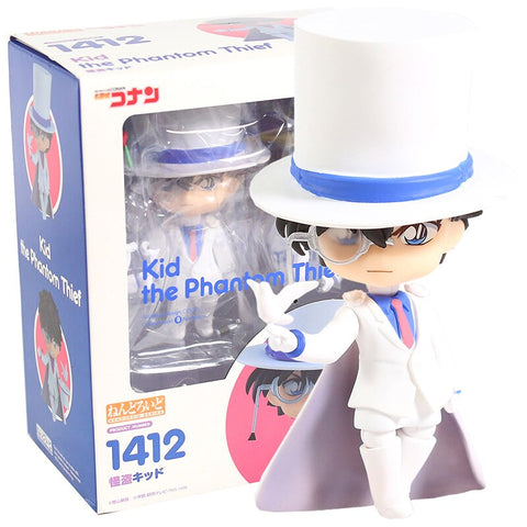 Detective Conan Kid The Phantom Thief 1412 PVC Action Figure Collectible Model Toy