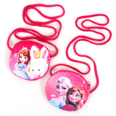 Disney Frozen cute children plush purse coin messenger small toy bag