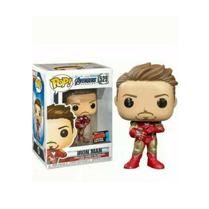 FUNKO POP Iron Man Mark I Marvel Tony Stark Action Figures Model Toys for Children Christmas Birthday Gifts