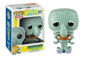 FUNKO POP SQUIDWARD PATRICK Mr. Krabs Action Figures Model Toys for Children Christmas Birthday Gifts