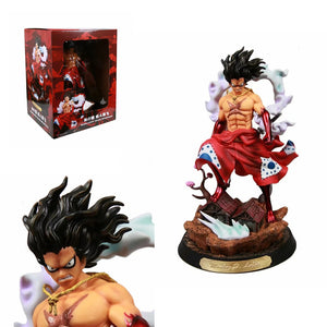 Anime One Piece Monkey D Luffy Action Figure GK Kimono Snake Man Luffy Figurine PVC Model Toys