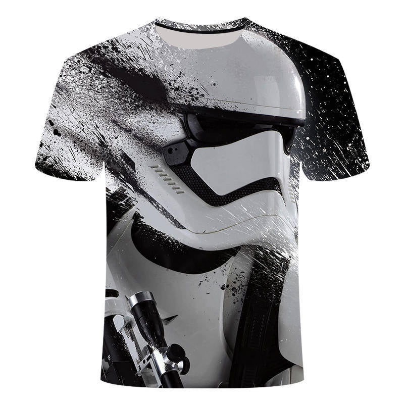 2019New Harajuku t shirts Yoda/Darth Vader Star Wars printed 3d t shirt men/women tshirt streetwear Hip Hop t-shirt casual tops