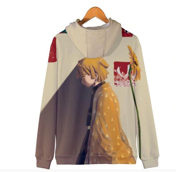 Jackets Demon Slayer: Kimetsu no Yaiba hoodie Cardigan Sweatshirts 3D Print