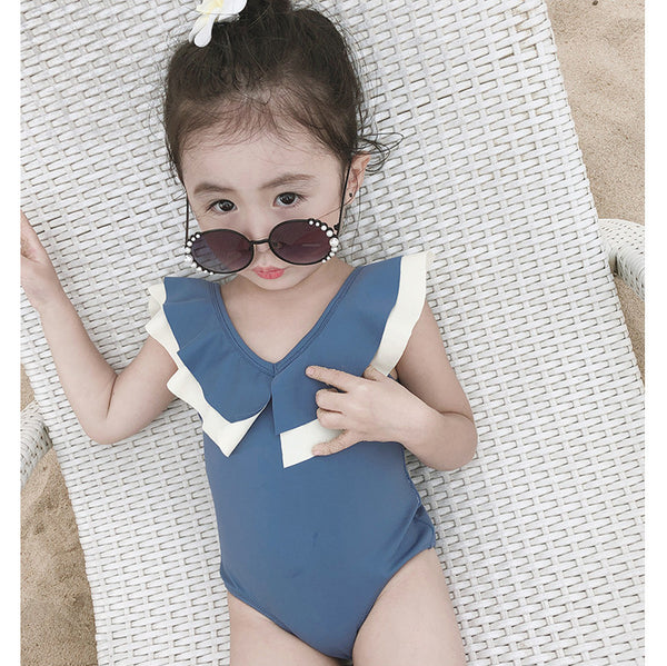 2020 Summer New Arrival Baby Girls Fashion Korean Design  Swimwear