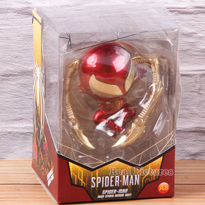 Spiderman Figure Iron Spider Armor Suit PVC Spider-man Spider Man Action Figure Collectible Model Toy Gift For Children