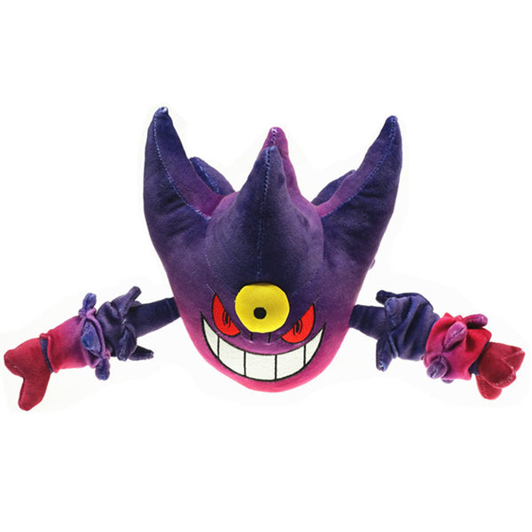 Japan Anime Characters Gengar Stuffed Plush Toys pkm Stuff Plush Doll Toys 20/30cm 2 Colors Christmas Gifts for Kids