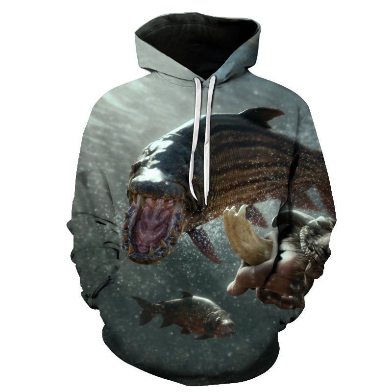 3D Tropical Fish Funny Hoodies For Fishinger Fisherman