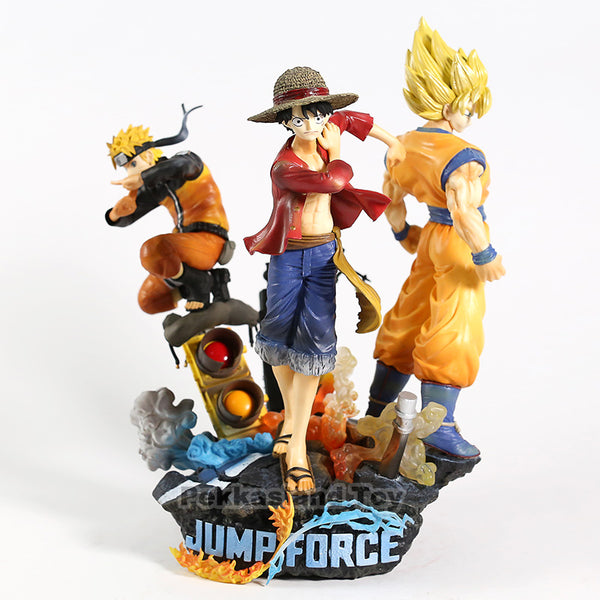 Luffy Son Goku Naruto Jump Force Action Figures 1/8 scale painted figure Collector's Edition Statue PVC figure Toys Brinquedos