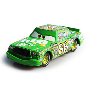 Disney Pixar Cars 2 3 No.86 Chick Hicks Metal Diecast alloy Toy Car model for children gift 1:55 Loose Brand New