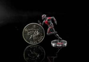Marvel Avengers Ant Man Action Figure Sitting Posture Model Anime Mini Doll Decoration PVC Collection Figurine Toys model