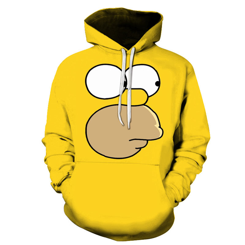 Fashion new hoodie 3D printing hoodie Simpson variety series winter sports shirt hoodie S-6XL
