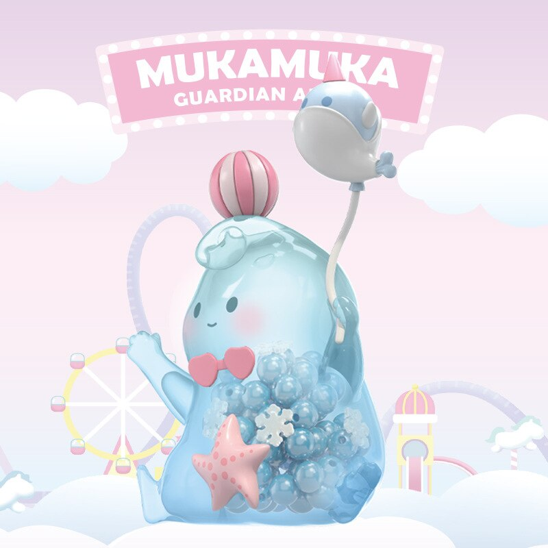 MUKAMUKA Summer Playground Series Blind Box Transparent Doll Girl Birthday Gift Action Toy Figures Blind Bag Toys Guess Bag
